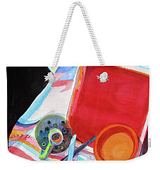 Circles, Squares And Shadows Weekender Tote Bag