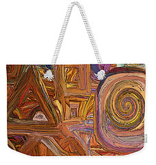 Circles, Squares And Triangles Weekender Tote Bag