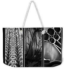 Circles Triptych Weekender Tote Bag