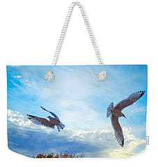 Circling Wings  Weekender Tote Bag