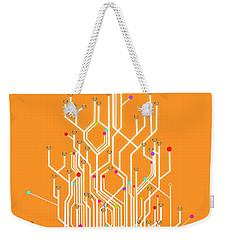 Circuit Board Graphic Weekender Tote Bag