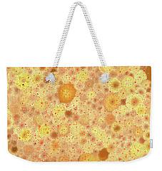 Weekender Tote Bag featuring the digital art Circular by Matt Lindley