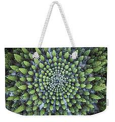 Circular Symmetry Weekender Tote Bag