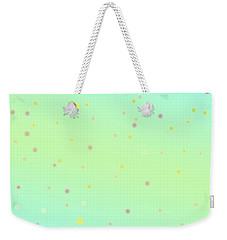 Circular Wonders Weekender Tote Bag by Karen Nicholson