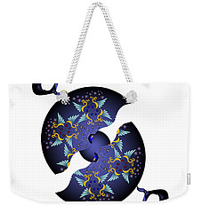 Circularium No 2634 Weekender Tote Bag