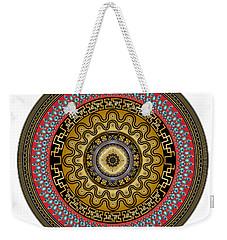 Circularium No. 2644 Weekender Tote Bag