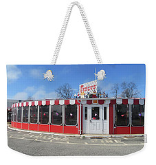 Weekender Tote Bag featuring the photograph Circus Drive In by Melinda Saminski