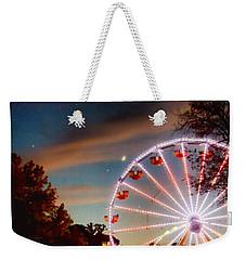 Circus Dusk Weekender Tote Bag
