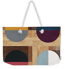 Cirkel Quad- Art By Linda Woods Weekender Tote Bag
