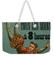 Cirque D'hiver Weekender Tote Bag
