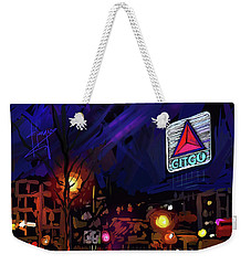 Citgo Sign, Boston Weekender Tote Bag