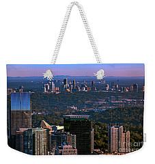 Cities Of Atlanta Weekender Tote Bag