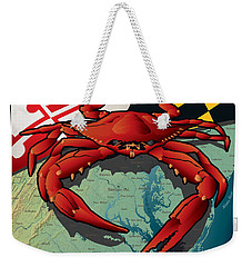 Citizen Crab Of Maryland Weekender Tote Bag