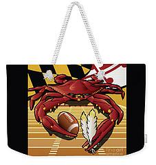 Citizen Crab Redskin, Maryland Crab Celebrating Washington Redskins Football Weekender Tote Bag