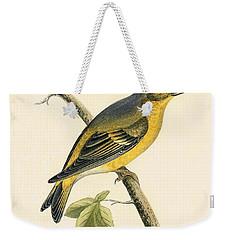 Citril Finch Weekender Tote Bag