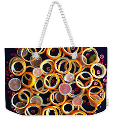 Citrus Delight Weekender Tote Bag