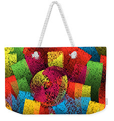 Weekender Tote Bag featuring the digital art City Center by Silvia Ganora