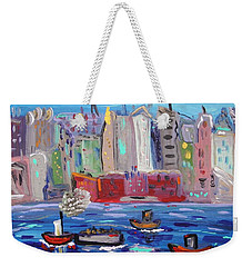City City City Weekender Tote Bag