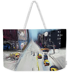 City Contrast Weekender Tote Bag