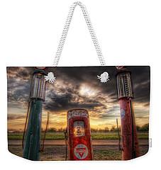 City Garage Sunset Weekender Tote Bag