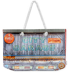 City Garage Weekender Tote Bag by Toma Caul
