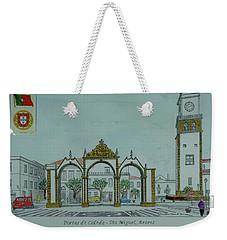 City Gates, San Miguel,azores Weekender Tote Bag