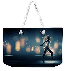 City Girl Weekender Tote Bag