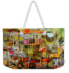 City Life  Weekender Tote Bag by Nancy Kane Chapman