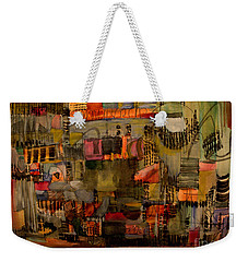 Evening Out Weekender Tote Bag by Nancy Kane Chapman