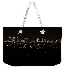 Weekender Tote Bag featuring the photograph City Light by Kelly Mills