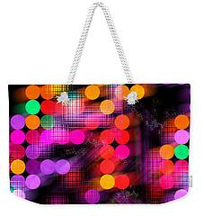 City Lights Weekender Tote Bag by Fran Riley