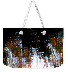 Weekender Tote Bag featuring the photograph City Lights  by Jacqueline M Lewis