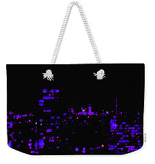 Toronto City Lights Weekender Tote Bag