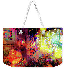 City Nights Weekender Tote Bag