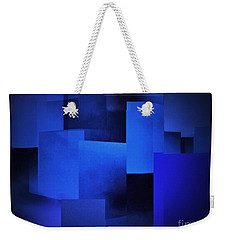 Night In The City Of Blues Weekender Tote Bag by John Krakora