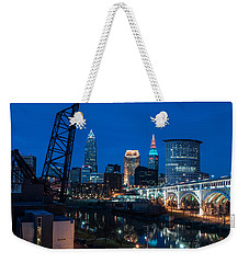 City Of Bridges Weekender Tote Bag