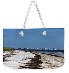 City Of Clearwater Skyline Weekender Tote Bag
