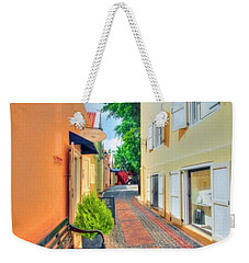 City Of Colours Weekender Tote Bag by Nadia Sanowar
