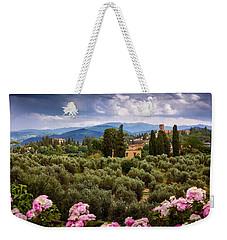 City Of Florence Weekender Tote Bag