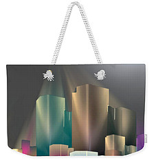 City Of Light 5-2 2016 Weekender Tote Bag by John Krakora