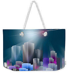 City Of Light Weekender Tote Bag by John Krakora