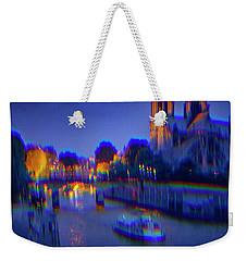 City Of Lights Weekender Tote Bag