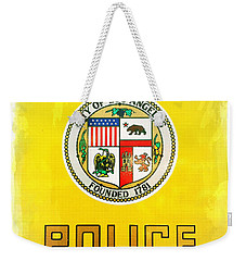 City Of Los Angeles - Police Weekender Tote Bag
