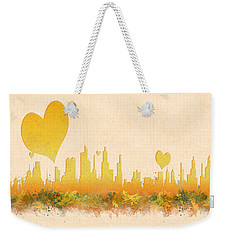City Of Love Weekender Tote Bag