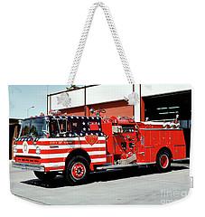 City Of Napa Van Pelt Engine 3 Weekender Tote Bag