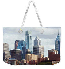 City Of Philadelphia Weekender Tote Bag