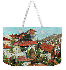 City Of The Endless Sun Weekender Tote Bag
