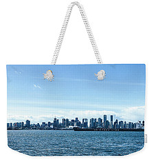 City Of Vancouver From The North Shore Weekender Tote Bag
