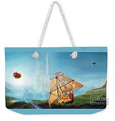 City On The Sea Weekender Tote Bag