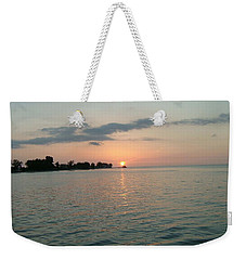 City Pier Holmes Beach Bradenton Florida Weekender Tote Bag